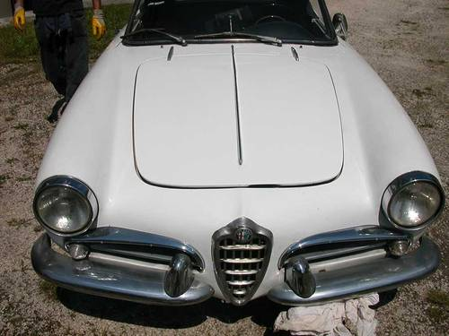 1962 ALFA ROMEO GIULIETTA SPIDER 1290 For Sale (picture 3 of 6)