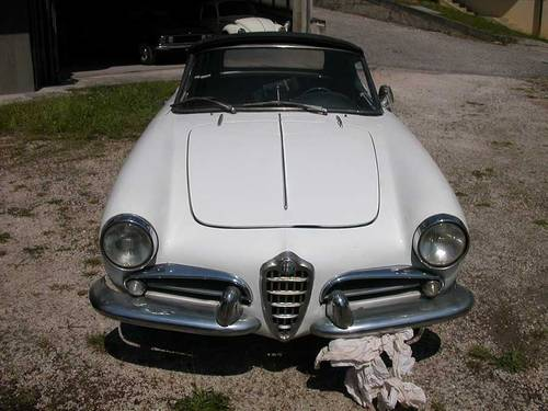 1962 ALFA ROMEO GIULIETTA SPIDER 1290 For Sale (picture 5 of 6)