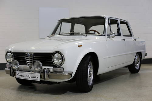 1971 A charming Alfa Giulia 1300 Super Tipo 115.09  SOLD (picture 1 of 6)