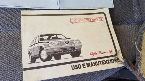 1987 rare alfa 75 td 2.0 For Sale (picture 4 of 6)
