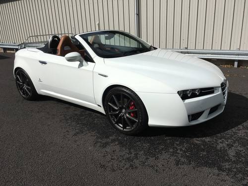 2008 58 ALFA ROMEO SPIDER 2.2 JTS LIMITED EDITION 185 BHP  SOLD (picture 1 of 6)