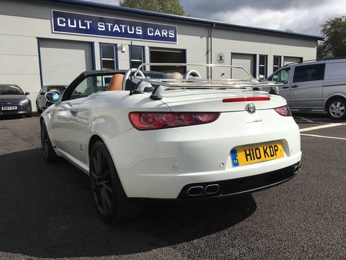 2008 58 ALFA ROMEO SPIDER 2.2 JTS LIMITED EDITION 185 BHP  SOLD (picture 4 of 6)