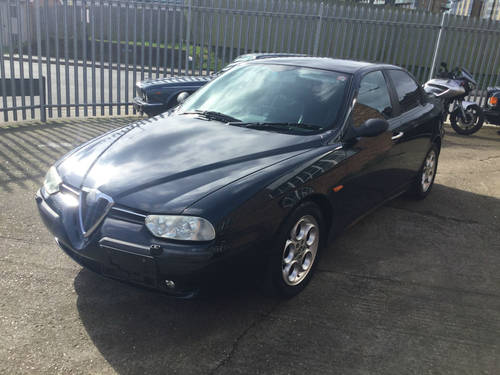 2000 Alfa Romeo 156 2.5 V6 24v auto Veloce 27000 Miles warranted SOLD (picture 1 of 6)
