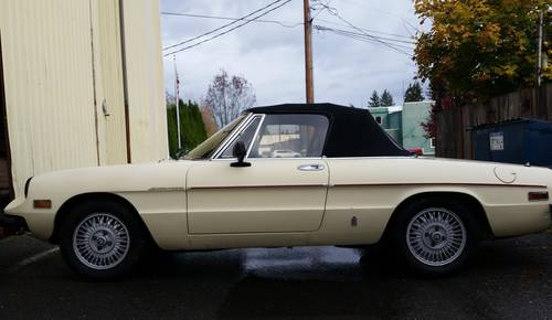 1981 Alfa Romeo Spyder 2000– Terrific Sports Car- Great Condition For Sale (picture 2 of 6)