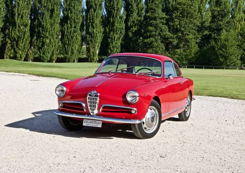 1955 ALFA ROMEO GIULIETTA SPRINT -PRE SERIE- For Sale (picture 2 of 6)