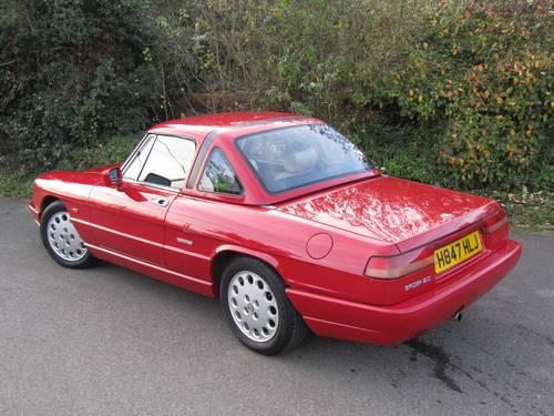 1990 Alfa Romeo 2.0 Spider - RHD SOLD (picture 2 of 6)