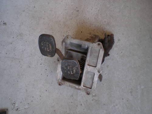 1960 alfa romeo giulietta pedals For Sale (picture 1 of 2)