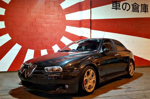 2005 ALFA ROMEO 156 RARE FUTURE CLASSIC ALFA ROMEO 156 GTA 3.2 V6 For Sale (picture 1 of 6)