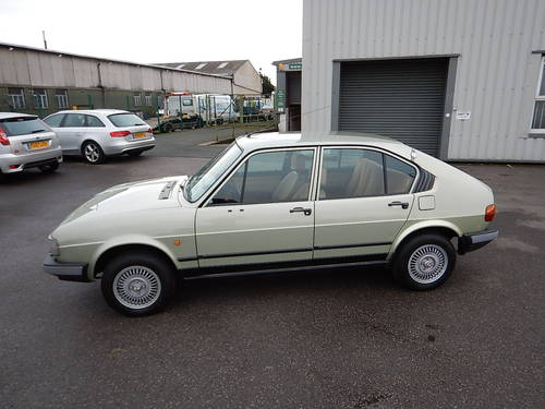 1982 ALFA ROMEO ALFASUD 1.5Ti Gold Cloverleaf  SOLD (picture 1 of 6)