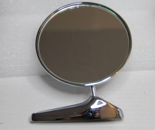 CLASSIC ALFA ROMEO SPIDER 105 ROUND WING MIRROR CHROMED For Sale (picture 1 of 3)
