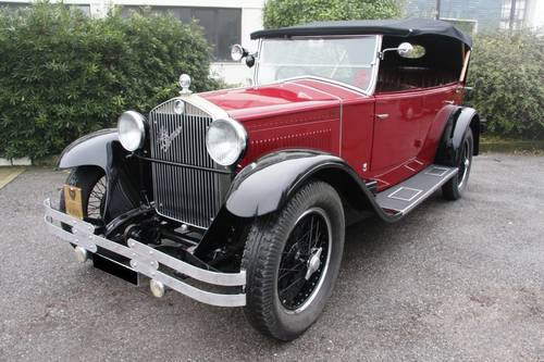 1929 Alfa Romeo - 6C 1750 Torpedo de Luxe. RHD For Sale (picture 1 of 6)
