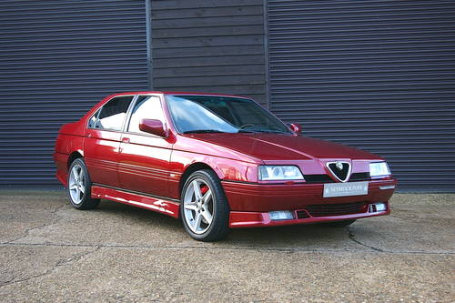 1997 Alfa Romeo 164 3.0 V6 Q4 Manual LHD  (68,322 miles) SOLD (picture 2 of 6)