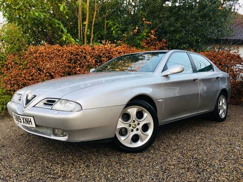 2001 alfa 166 3.0 v6 - only 1 former keeper from new SOLD (picture 1 of 6)