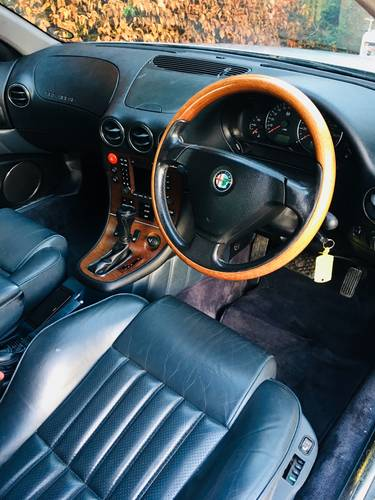 2001 alfa 166 3.0 v6 - only 1 former keeper from new SOLD (picture 4 of 6)