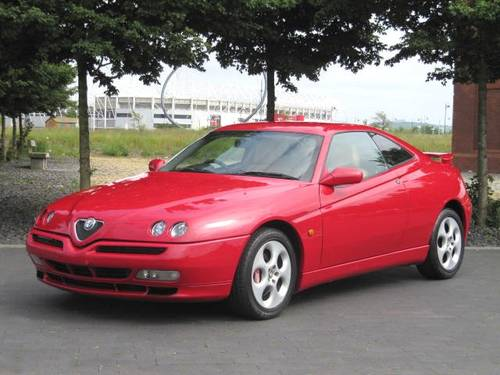 1999 ALFA ROMEO GTV LUSSO 3.0 V6 24 VALVE 6 SPEED 916 C1 COUPE For Sale (picture 1 of 6)