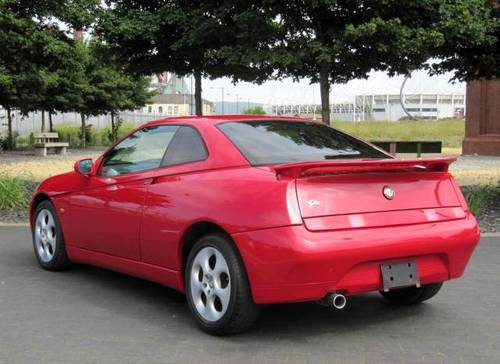 1999 ALFA ROMEO GTV LUSSO 3.0 V6 24 VALVE 6 SPEED 916 C1 COUPE For Sale (picture 3 of 6)