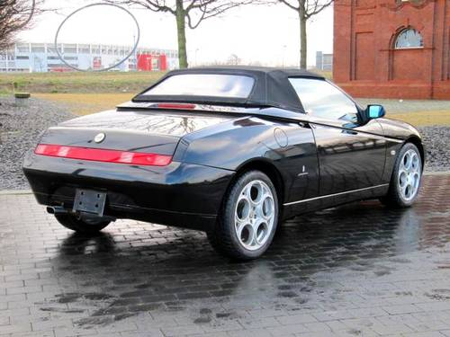 2001 ALFA ROMEO SPIDER 916 CONVERTIBLE LUSSO * ONLY 45000 MILES For Sale (picture 2 of 6)