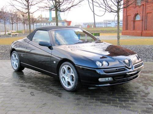 2001 ALFA ROMEO SPIDER 916 CONVERTIBLE LUSSO * ONLY 45000 MILES For Sale (picture 3 of 6)