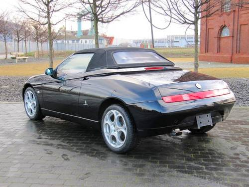 2001 ALFA ROMEO SPIDER 916 CONVERTIBLE LUSSO * ONLY 45000 MILES For Sale (picture 4 of 6)