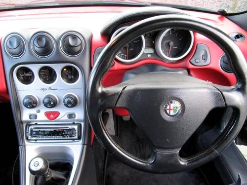 2001 ALFA ROMEO SPIDER 916 CONVERTIBLE LUSSO * ONLY 45000 MILES For Sale (picture 6 of 6)