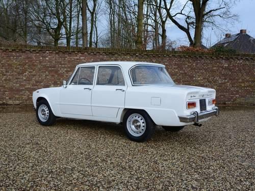 1972 Alfa Romeo Giulia 1300 unrestored!! Very original! For Sale (picture 2 of 6)