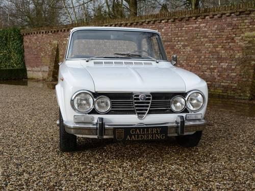 1972 Alfa Romeo Giulia 1300 unrestored!! Very original! For Sale (picture 5 of 6)