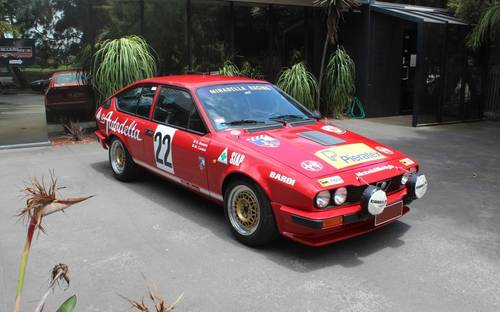 1982 Alfa Romeo Autodelta Group A GTV6 2500 For Sale (picture 1 of 6)