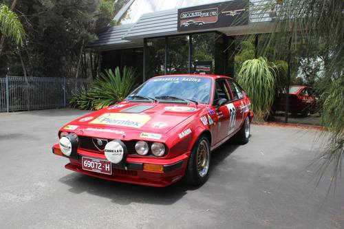 1982 Alfa Romeo Autodelta Group A GTV6 2500 For Sale (picture 2 of 6)