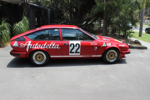 1982 Alfa Romeo Autodelta Group A GTV6 2500 For Sale (picture 3 of 6)