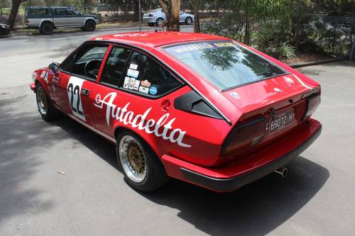 1982 Alfa Romeo Autodelta Group A GTV6 2500 For Sale (picture 4 of 6)