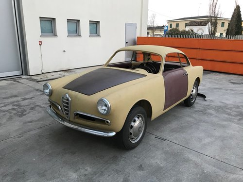 1957 Alfa romeo giulietta sprint 750b For Sale (picture 1 of 6)