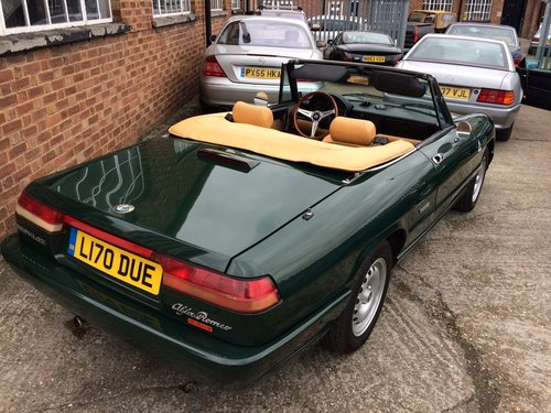 1993 Alfa Romeo Spider 2.0 S4 LHD Immaculate 55000 miles  SOLD (picture 2 of 6)