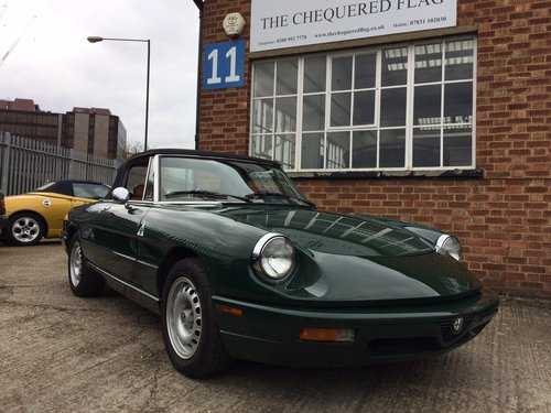 1993 Alfa Romeo Spider 2.0 S4 LHD Immaculate 55000 miles  SOLD (picture 4 of 6)