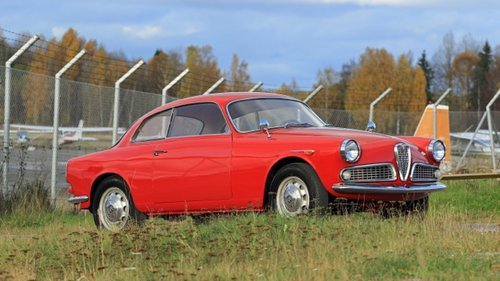 1962 Alfa Romeo Giulietta Sprint LHD -reserved For Sale (picture 1 of 6)