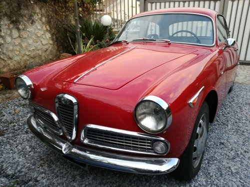 Alfa Romeo Giulia Sprint 1962 REDUCED PRICE! For Sale (picture 1 of 6)