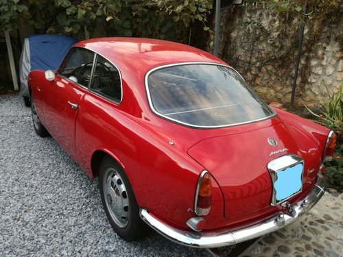 Alfa Romeo Giulia Sprint 1962 REDUCED PRICE! For Sale (picture 2 of 6)