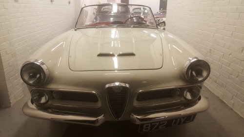 1959 Alfa Romeo Spider 2000  For Sale (picture 1 of 6)