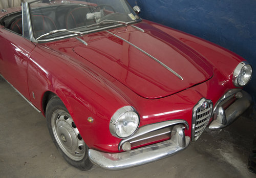 GIULIETTA SPIDER 2° SERIE - 1961 ...NICE PRICE !! For Sale (picture 2 of 4)
