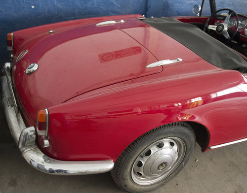GIULIETTA SPIDER 2° SERIE - 1961 ...NICE PRICE !! For Sale (picture 3 of 4)
