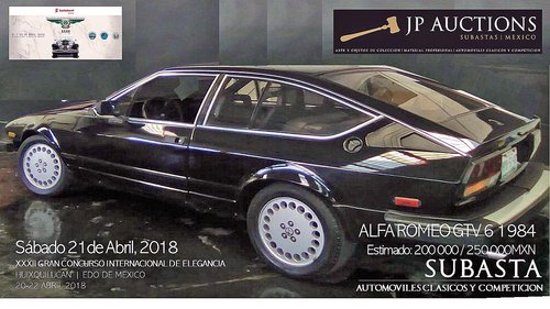 ALFA ROMEO GTV6 1984 For Sale by Auction (picture 1 of 6)
