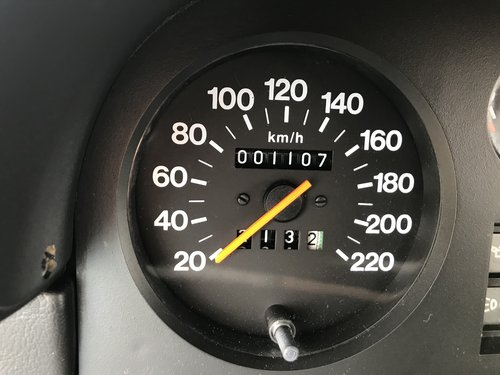 1986 NEW Alfa 33 1100km For Sale (picture 4 of 6)