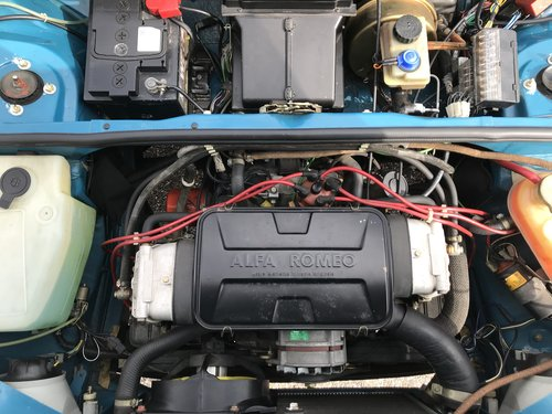 1986 NEW Alfa 33 1100km For Sale (picture 5 of 6)