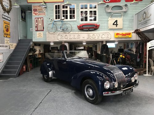 1949 Allard M-Type Drophead Coupe For Sale (picture 1 of 5)