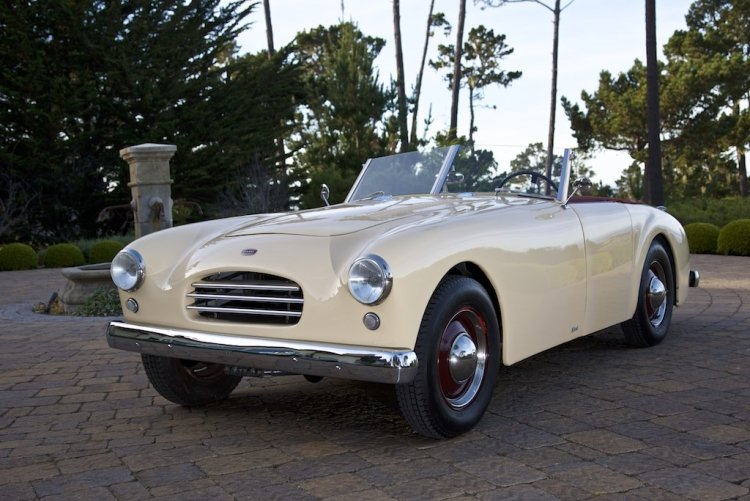 1953 Allard K3 = Roadster 3-Seater  + 2.8k miles   $115.5k For Sale (picture 1 of 6)