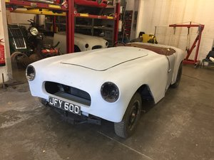 1953 Allard Palm Beach Mk I restoration project