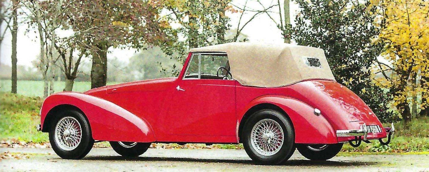 1948 Allard M-Series Drophead Coupé For Sale (picture 2 of 6)