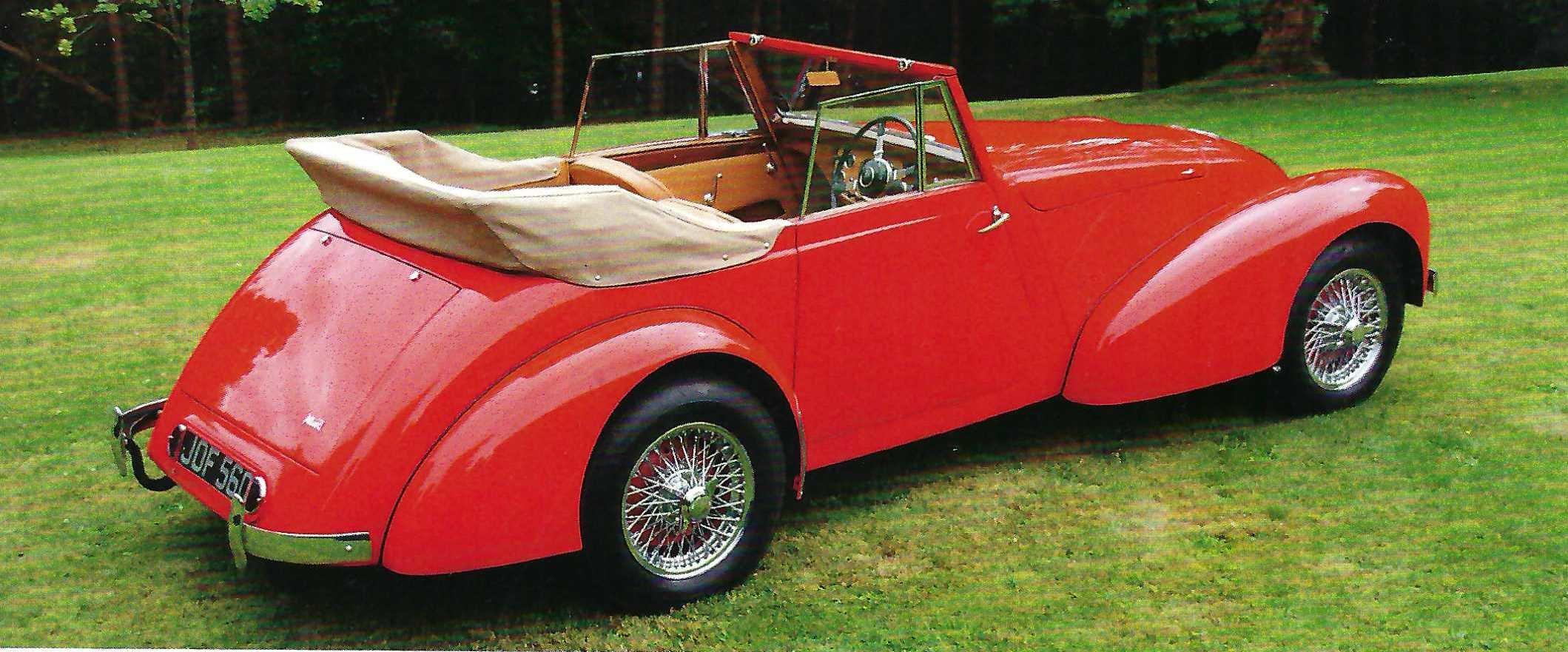 1948 Allard M-Series Drophead Coupé For Sale (picture 3 of 6)