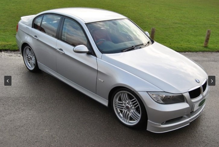 2007 Alpina D3 Saloon - 1 of 358 UK RHD Cars - Very Rare For Sale (picture 1 of 6)