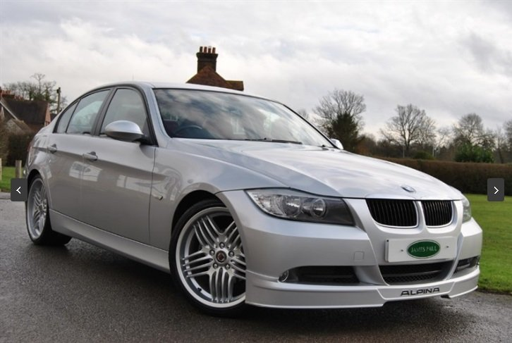 2007 Alpina D3 Saloon - 1 of 358 UK RHD Cars - Very Rare For Sale (picture 2 of 6)