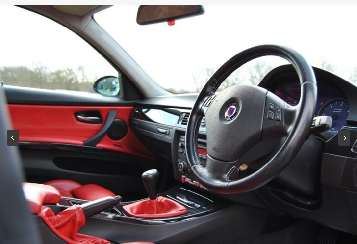 2007 Alpina D3 Saloon - 1 of 358 UK RHD Cars - Very Rare For Sale (picture 4 of 6)